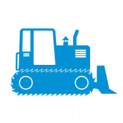 Bulldozer- wallstickers
