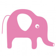 Wallsticker - Elefant