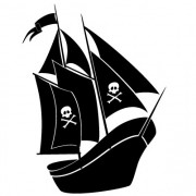 piratskib- wallsticker