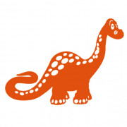 Dinosaurus no. 1- wallstickers