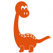 Dinosaurus no. 2- wallstickers