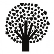 Wallsticker - Træ - wallstickers