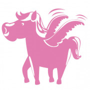 Pegasus- wallsticker