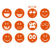 Smileys- Mixpakke no. 1