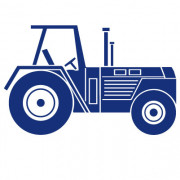 wallsticker - Traktor no. 1